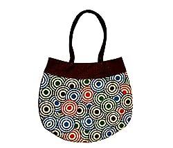 The Rogue Studio Women's Jute Multi-Colour Bag (Afbr01)