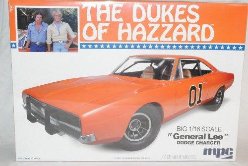 Dodge Charger 1969 General Lee Dukes of Hazzard Kit Bausatz 1/16 1/18 Amt Modell Auto mit individiuellem Wunschkennzeichen