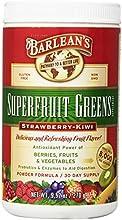 Barlean39s Organic Oils Superfruit Greens Strawberry Kiwi 95 Ounce