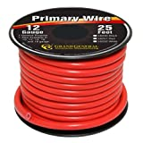 Grand General 55251 Red 12-Gauge Primary Wire