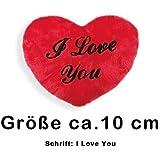 Herz Kissen - Plüschkissen - I love you - Herzkissen - Liebe