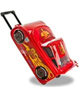 Disney Lightning McQueen Rolling Luggage
