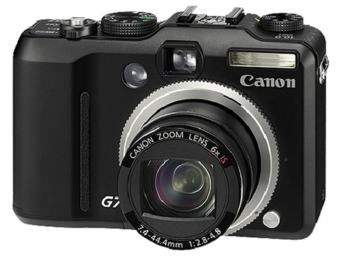 Canon PowerShot G7 Digital Camera - Black (10.0MP, 6x Optical Zoom) 2.5