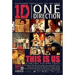 ワンダイレクション / ONE DIRECTION This Is Us/映画ポスター 【公式商品 / オフィシャル】