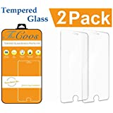 iPhone 6 / 6S Screen Protector, [2-PACK] TheCoos® iPhone 6S / 6 Tempered Glass Screen Protector [3D Touch Compatible][Premium HD Shockproof] Curved Edge For iPhone 6 / 6S
