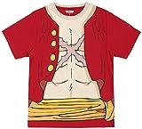 (ワンピース)ONE PIECE ONE PIECEなりきり半袖Tシャツ 12893245 10 レッド L