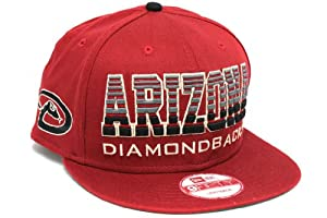 New Era Unisex Arizona Diamondbacks Fade Snap Primedor Snapback Hat One Size Sedona... by New Era