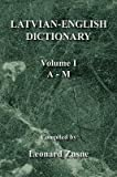 img - for By Leonard Zusne Latvian-English Dictionary Vol. I A-M [Paperback] book / textbook / text book