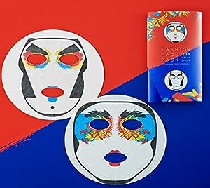 海外でHaloweenハロウィン仮装コスチュームマスクとしても使えるかも歌舞伎フェイスパック