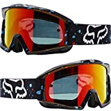 Fox Racing Main Nirv Adult Moto Motorcycle Goggles Eyewear - Black / No Size
