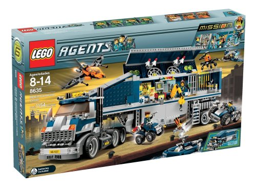 LEGO Agents Mobile Command Center Amazon.com