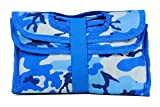 PackIt Freezable Lunch Bag with Velcro Closure, Blue Camouflage
