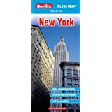 Plan de New-York - Flexi Map Plastifipar Berlitz