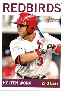 2013 Topps Heritage Minor League Baseball Card # 198 Kolten Wong Memphis Redbirds by Topps