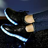 Justcreat 8 Colors LED Luminous Shoes Men Women Unisex Couple Sneakers Fashion Casual Flat Led Shoes