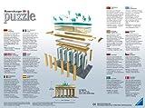 Ravensburger-12551-Brandenburger-Tor-Berlin-324-Teile-3D-Puzzle-Bauwerke