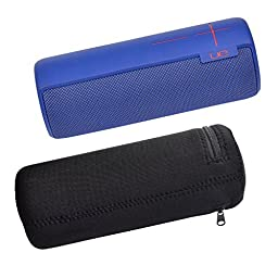 Pashion UE BOOM Wireless Bluetooth Speaker Water-Resistant Lycra Zipper Carrying Case Bag