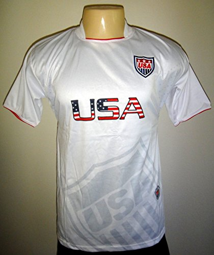 United States USA Men's Dri Fit Light Weight Soccer Jersey S