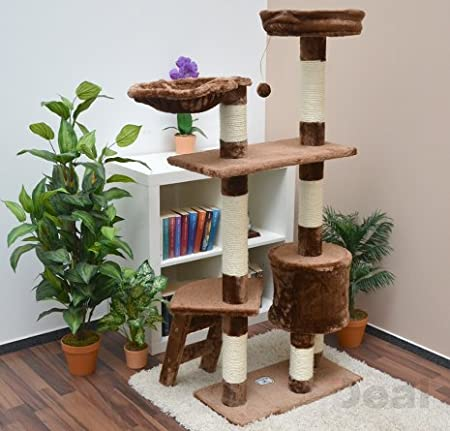 katzenkratzbaum pia ca 142 cm kratzbaum katzenbaum mittelgro. Black Bedroom Furniture Sets. Home Design Ideas