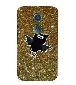 Bat Stars 3D Hard Polycarbonate Designer Back Case Cover for Motorola Moto X2 :: Motorola Moto X (2nd Gen)