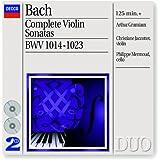 Bach, J.S.: Complete Violin Sonatas (2 CDs)