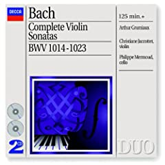 J.S. Bach: Sonata for Violin or Flute and Continuo, No.3 in F, BWV 1022 Anh.II 154 - 1. -