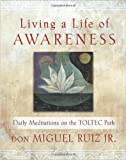 Living a Life of Awareness: Daily Meditations on the Toltec Path (Paperback) - Common