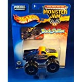 2002 Hot Wheels Monster Jam Metal Collection Mattel #28 Black Stallion Collectible Truck 1:64 Scale