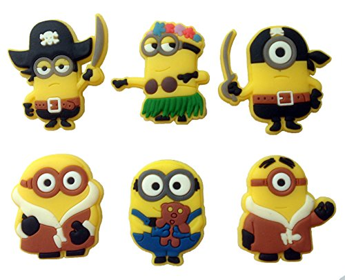 Despicable Me Fridge Magnets 6 Pcs Set #4