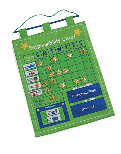 Responsibility and Reward Chart - Children's Chore Chart by One Step Ahead (Toddlers Responsibility Chart compare prices)