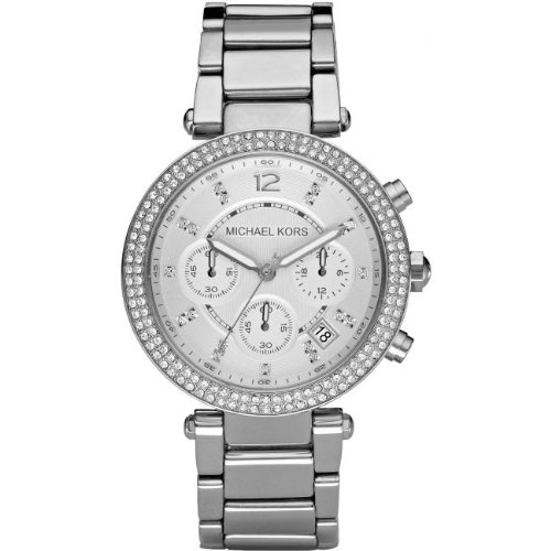 Michael Kors MK5353 Chronograph Womens Watch - Sliver