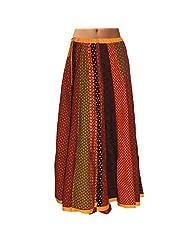 Sttoffa Womens Cotton Skirts -Multi-Colour -Free Size - B00MJO7ZS0