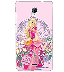 MICROMAX A106 UNITE 2T PRINCES Back Cover by PRINTSWAG