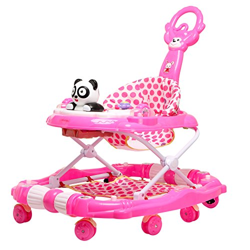 Tiffy & Toffee Delight Baby Walker with Rocker (Rose Pink)  available at amazon for Rs.1959
