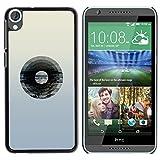 YiPhone Premium Slim Snap Back Case Cover Armor Shell Vinyl Record Music Minimalist Artistic Music HTC Desire 820