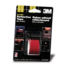 3M Scotchlite Reflective Tape, Red, 1-Inch by 36-Inch