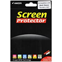 Amzer AMZ89009 Anti-Glare Screen Protector with Cleaning Cloth for BlackBerry 9800 and BlackBerry Torch 9810