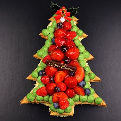 トリプルベリーのクリスマスツリー