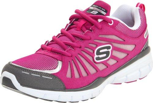 Skechers USA Ltd Women's Tone Ups Run Hot Pink Training Shoes 11775 4 UK