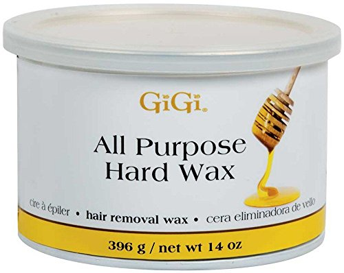 GiGi All Purpose Hard Wax Professional Spa Salon Gentle Body Hair Removal 14oz (Honey Hair Removal compare prices)