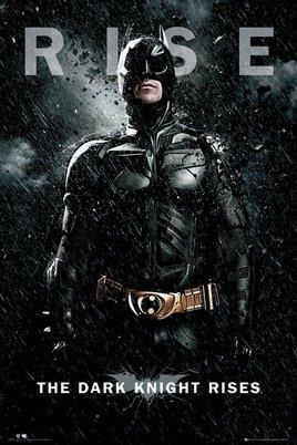 バットマン ダークナイト ライジング BATMAN THE DARK KNIGHT RISES Batman Rise ポスター (120713)