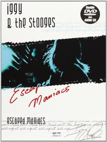 Iggy Pop & The Stooges - Escaped Maniacs (2 DVD+CD)