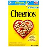 Cheerios Cereal, 14 Ounce (Pack of 4) ~ General Mills Cereals