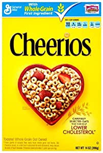 Cheerios Cereal, 14 Ounce (Pack of 4)