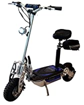 Super Lithium 1300-Brushless Electric Scooter (Silver)