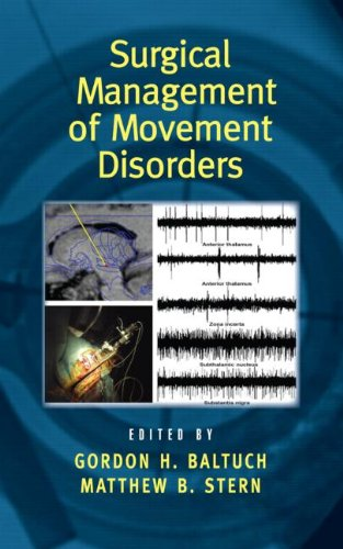 Surgical Management Of Movement Disorders (Neurological Disease And Therapy)
