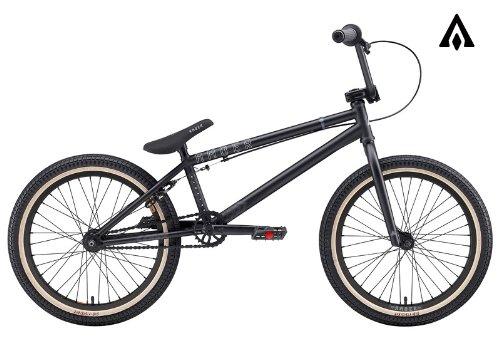 Amber Sanctum Matte Black BMX Bike