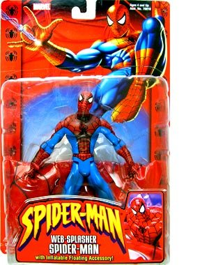 Web-Splasher Spider-Man with Inflatable Floating Accessory action figure - 1