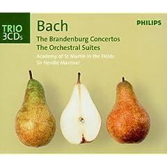 Bach, J.S.: Brandenburg Concertos/Orchestral Suites/Violin Concertos (3 CDs)