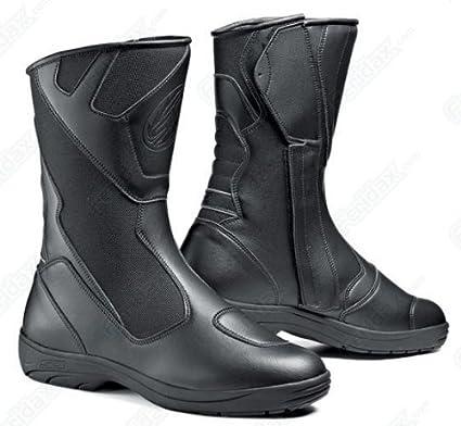 Nouvelles bottes de moto noire Mega Tepor Sidi Way